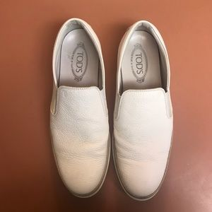 Authentic TOD'S Men's Slip-On Driving Shoes